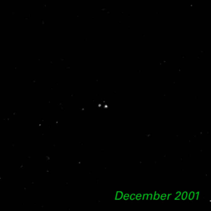 December 2001- Kuiper Belt Object 1998 WW31