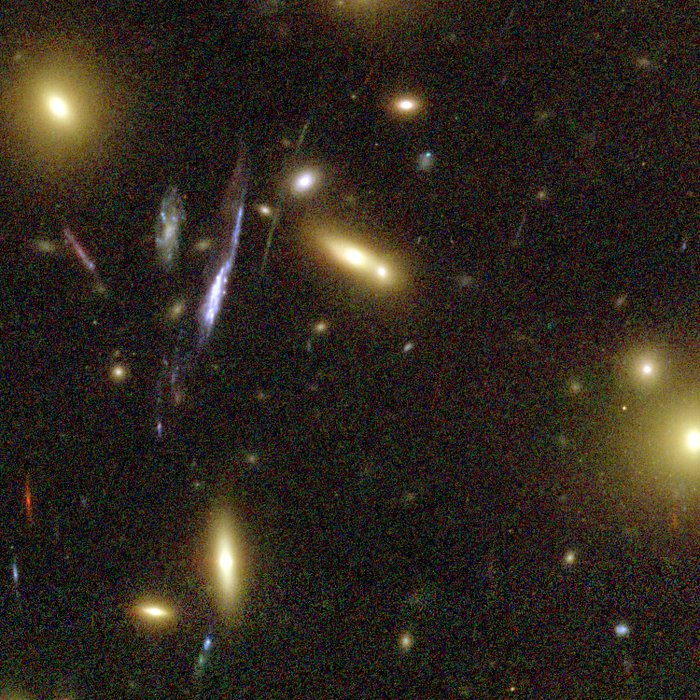 Galaxy Cluster Abell 1689 Details