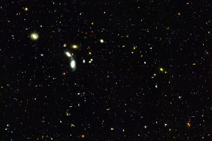 Hubble Goes 'Deep' to Sample Young Galaxies