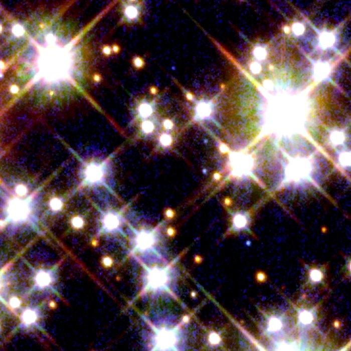 Globular Cluster M4 - HST/WFPC2 Image