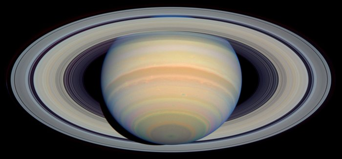 The Slant on Saturn's Rings (Visible)