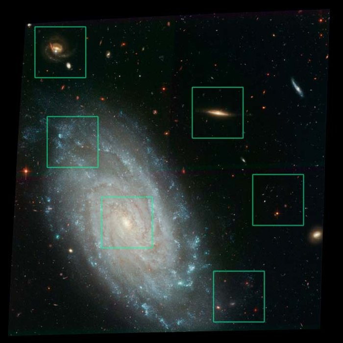 Details from ACS Image of NGC 3370