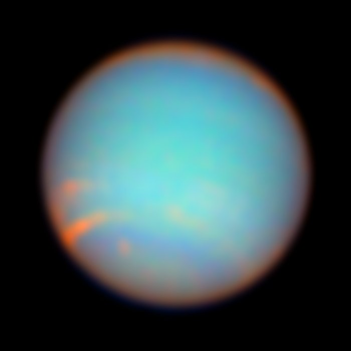 Neptune as Seen with colour Filters
