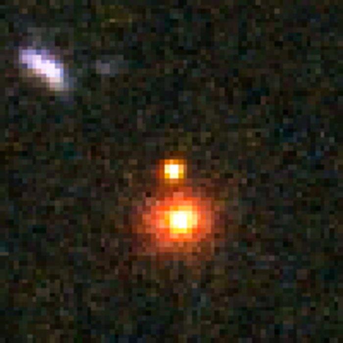 Distant Supernova 3 - After Outburst