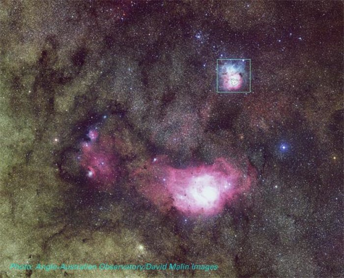lagoon trifid nebula - photo #35