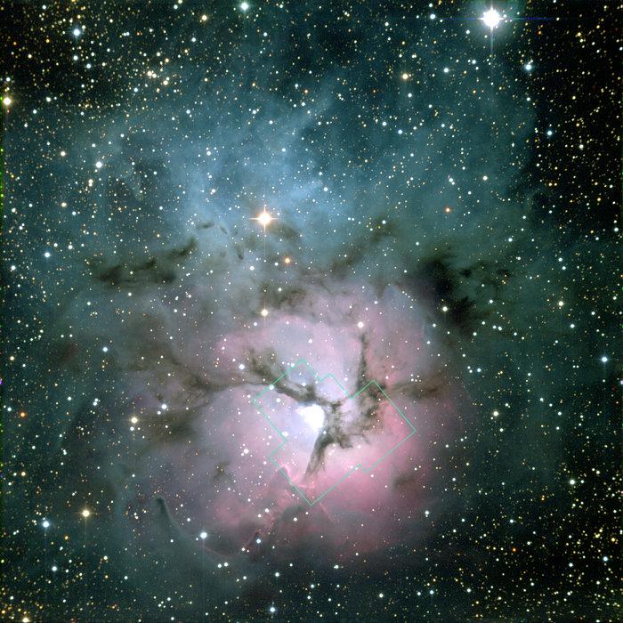 NOAO image of Trifid Nebula