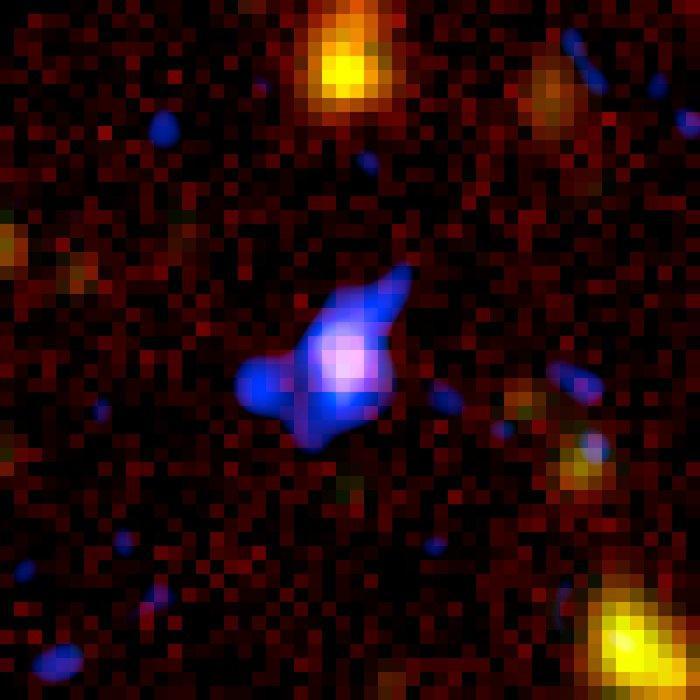 Spitzer+Chandra: Object #7 53.215169-27.870226