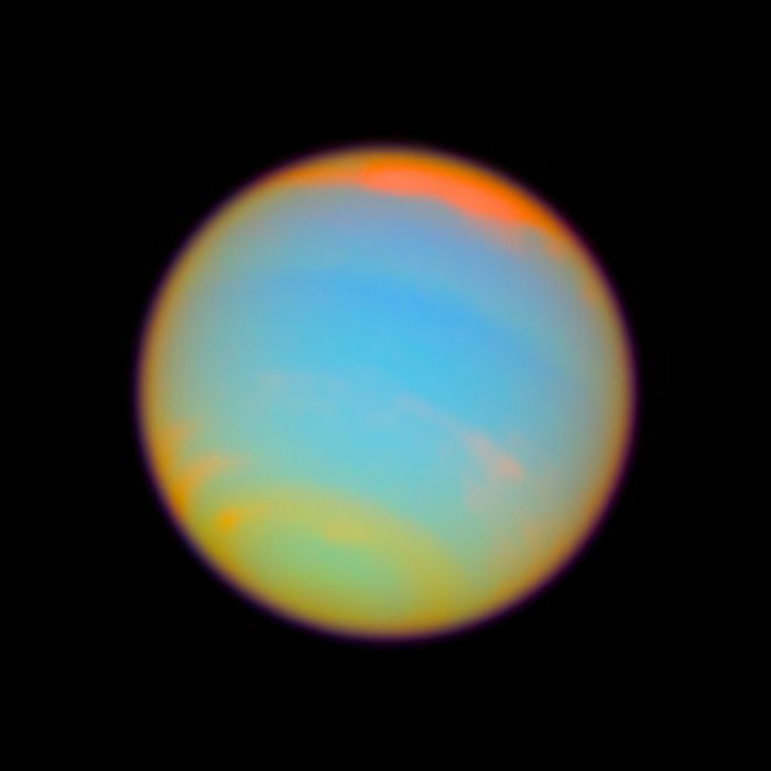 Neptune - enhanced color