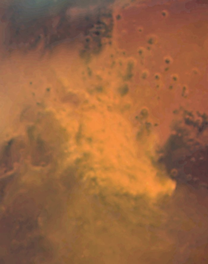 Mars Dust Storm: October 28, 2005 (ACS/HRC)