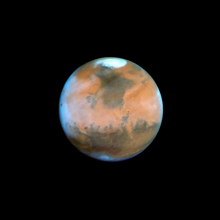 Mars Near Opposition 1995-2005: 1995