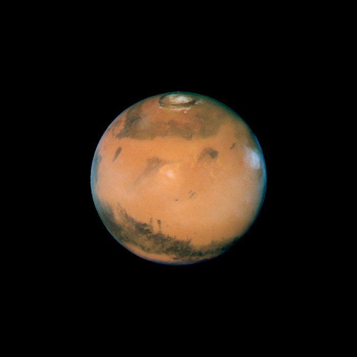 Mars near opposition 1995-2005: 1997
