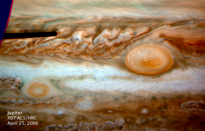 Jupiter's New Red Spot - HST ACS/HRC: April 25, 2006