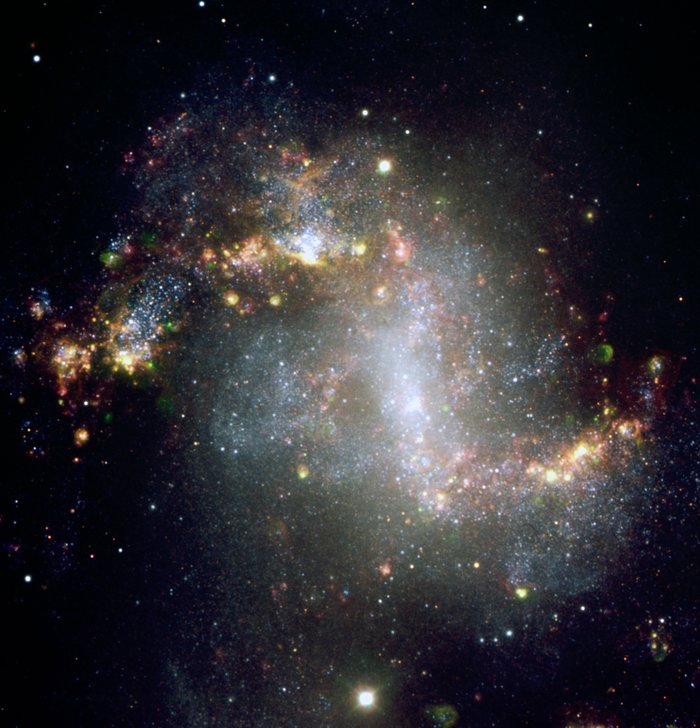 Barred Spiral Galaxy NGC 1313 - VLT