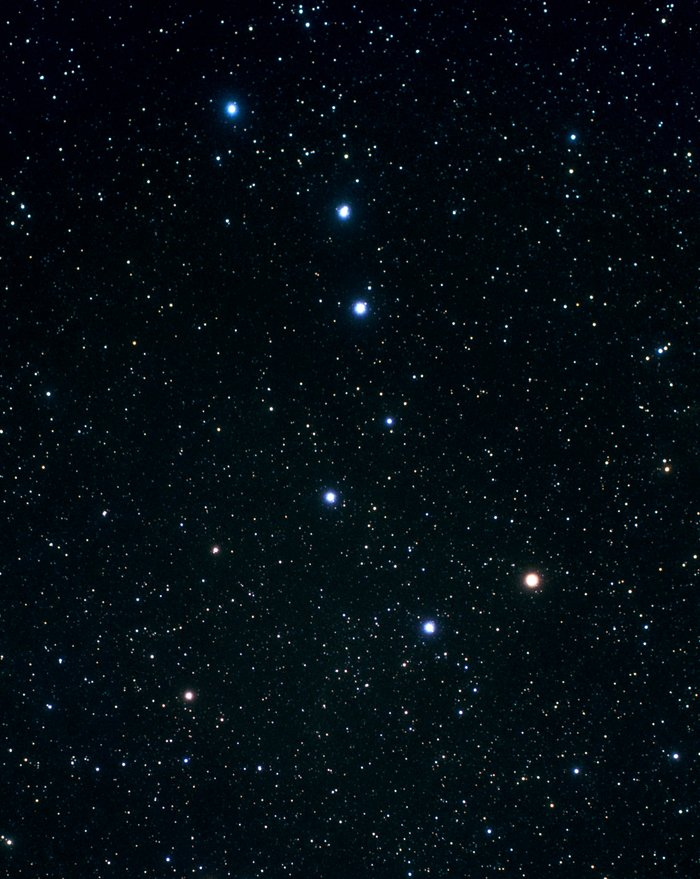 Constellation Ursa Major (ground-based image)