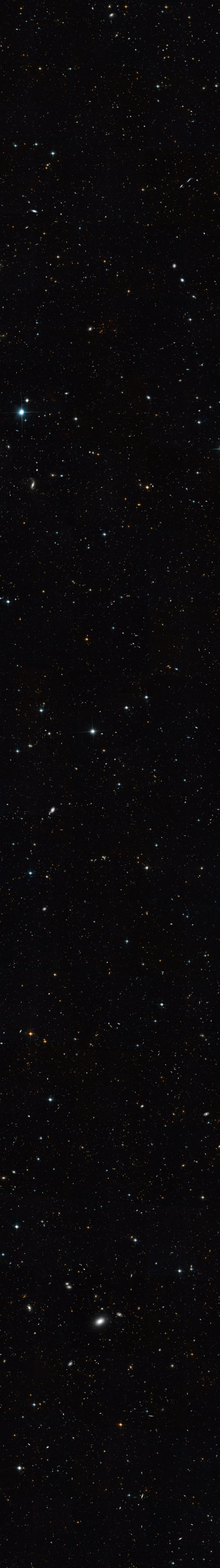 Extended Groth Strip - Full Hubble Image