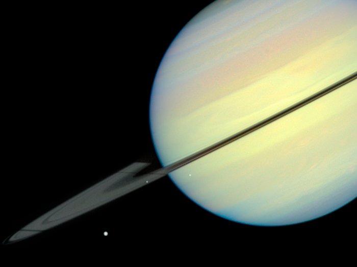 Saturn's Moons - Frame 1