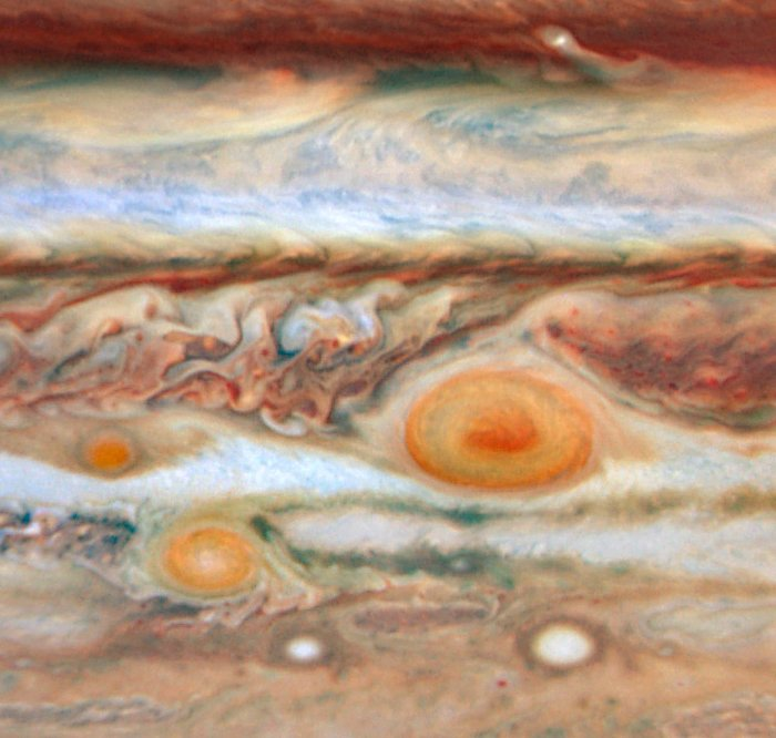 New Red Spot Appears on Jupiter