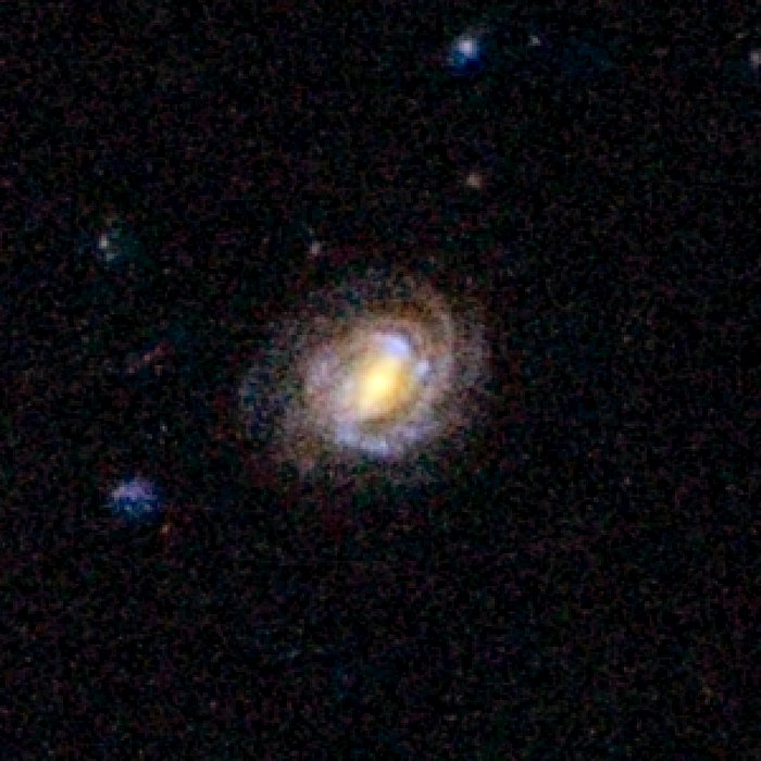 COSMOS Barred Spiral Galaxy 1161898