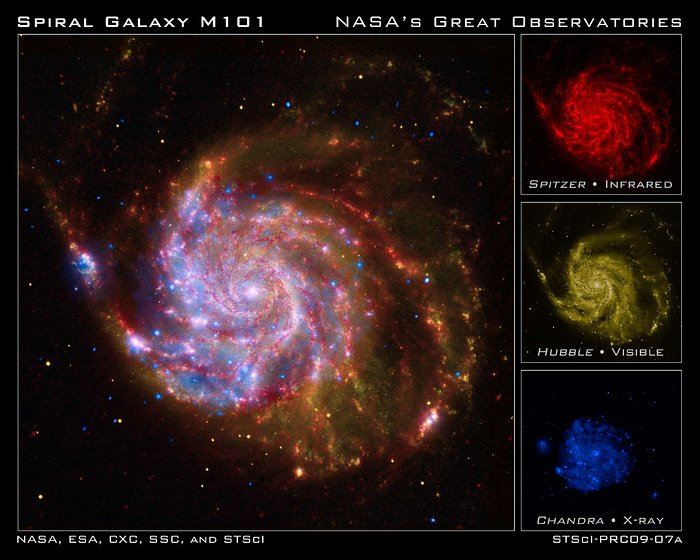 NASA's Great Observatories celebrate the International Year of Astronomy