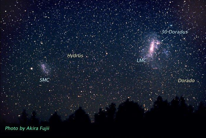 Doradus Constellation (ground-based image)