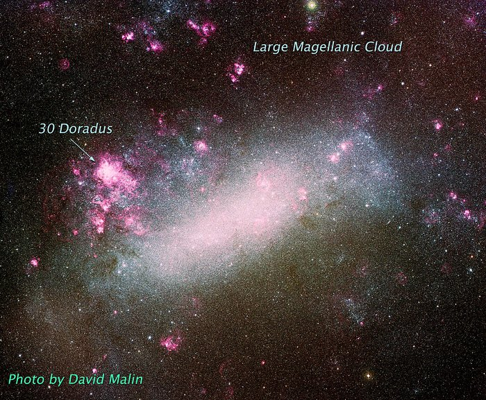 Ground Image of Large Magellanic Cloud