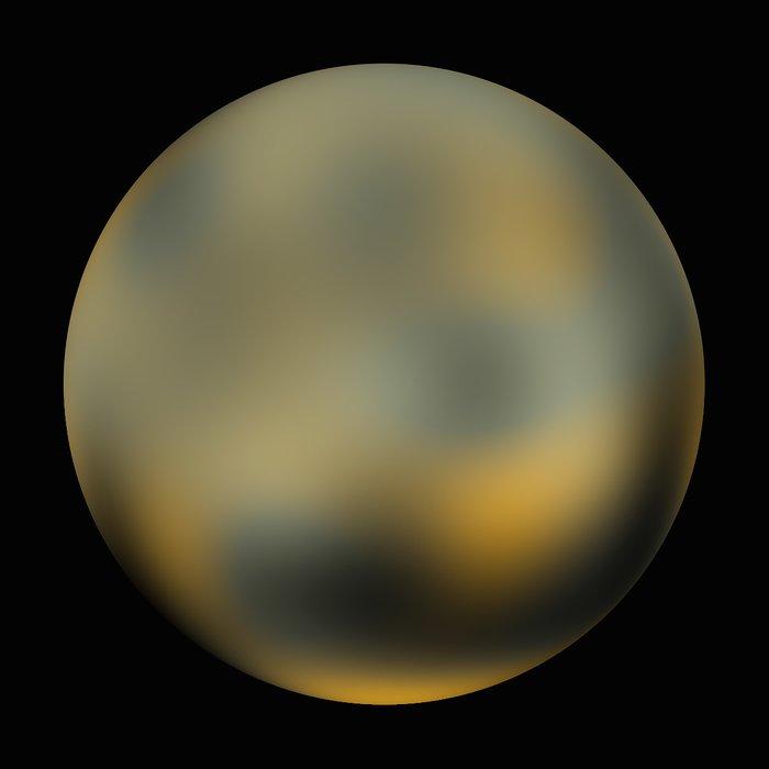 Pluto - 270° longitude