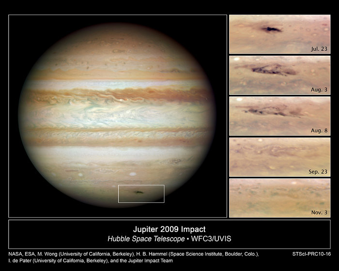 Jupiter impact scar is going, going, gone