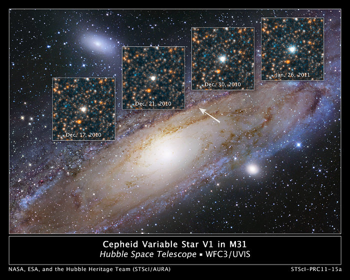 Hubble views the star that changed the Universe