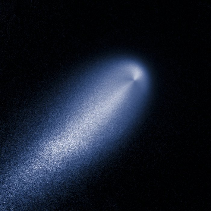 Enhanced Hubble image of Comet ISON