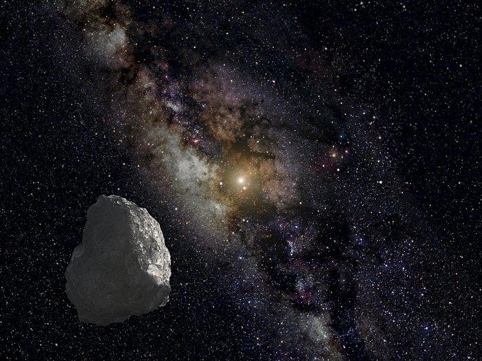 Artist's impression of a Kuiper Belt object