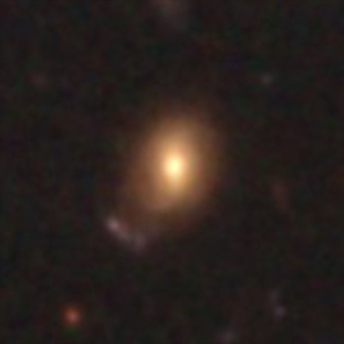 Hubble galaxy at redshift z = 0.65