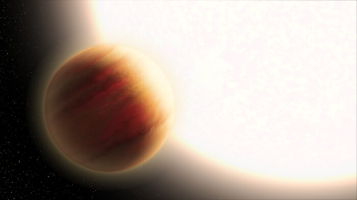 Hubble Probes Exoplanet WASP-79b (Artist's Impression)