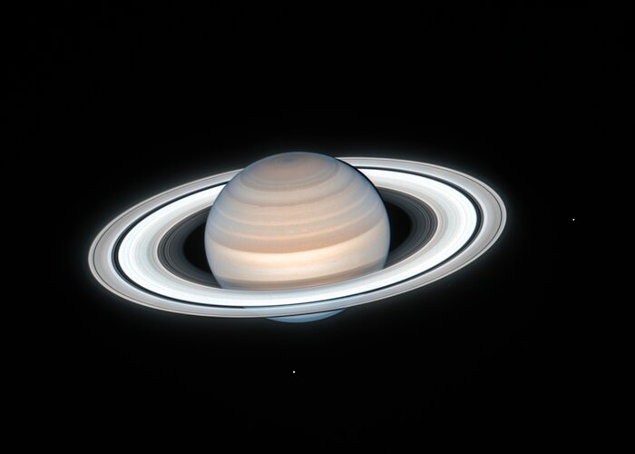 Hubble Sees Summertime on Saturn