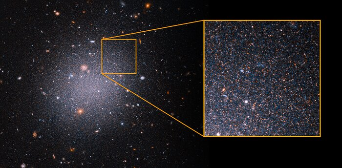 NGC1052-DF2 with pull-out of red giant stars