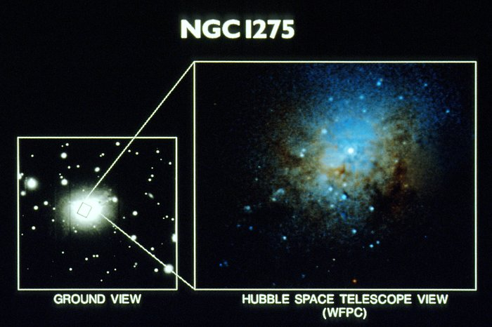 Globular Clusters at the Core of NGC 1275