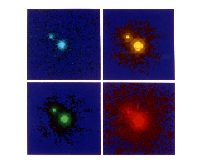 NASA/ESA Hubble Space Telescope colour images of gravitational lenses