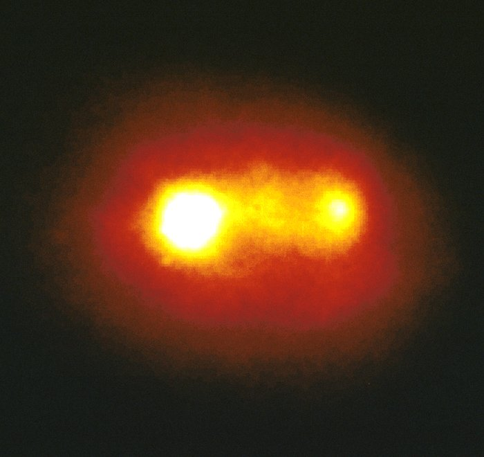 A double Nucleus in an active galaxy