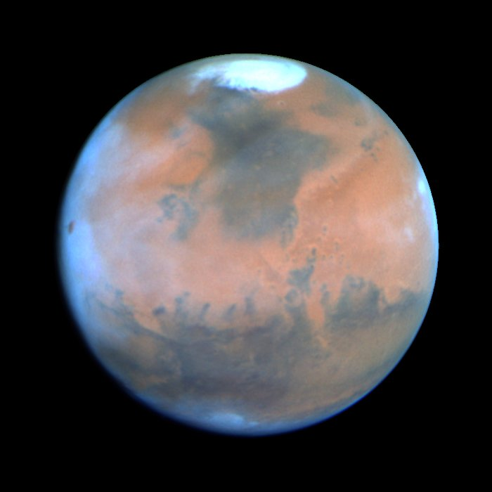 Mars at Opposition 1995 (sol)