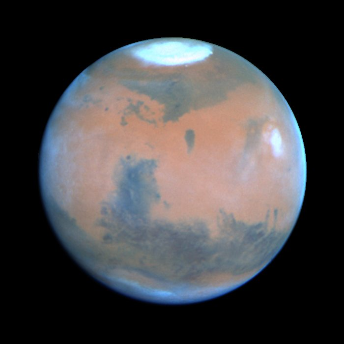 Mars at Opposition 1995 (Syrtis Major Region)