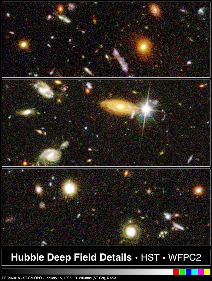 Hubble Deep Field Details