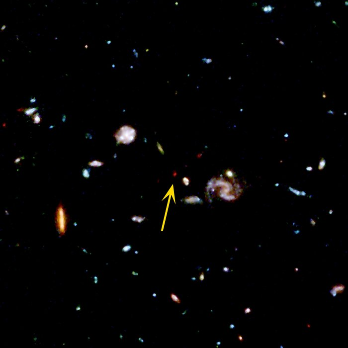 Faint Galaxy in the Hubble Deep Field