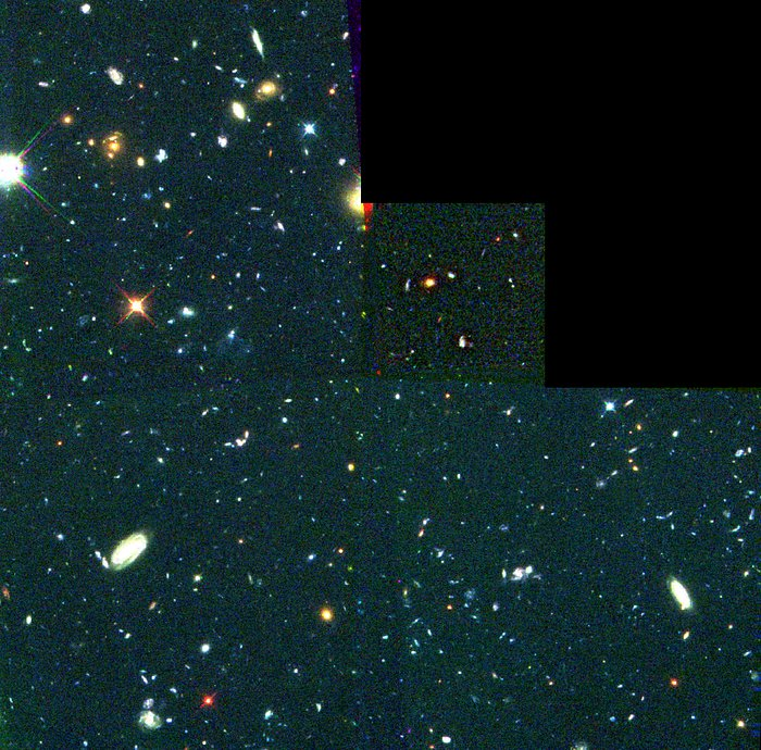 Hubble's View of 18 Proto Galaxies