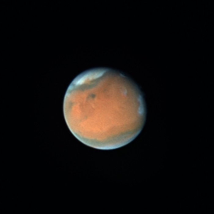 Dust Storms on Mars (September 18th, 1996)
