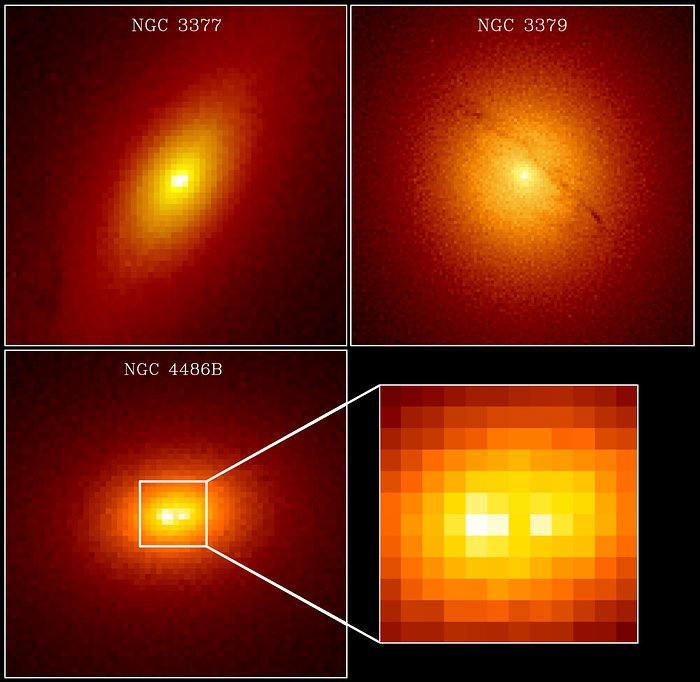 Massive Black Holes In Galaxies NGC 3377, NGC 3379 And NGC 4486b