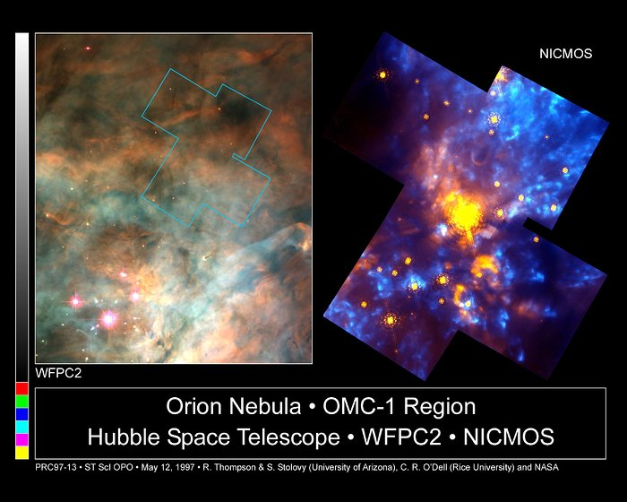 The Orion Nebula OMC-1 Region