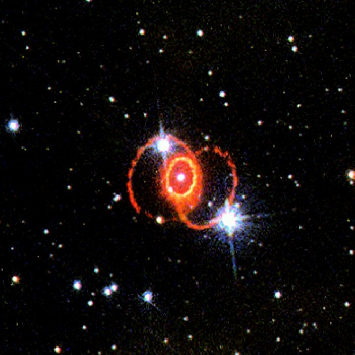 STIS Chemically Analyzes the Ring Around SN 1987a