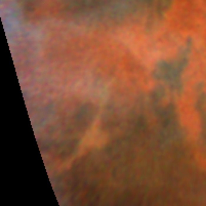 Decay of a Martian Dust Storm