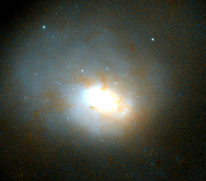 Central region of HST image of NGC 3921