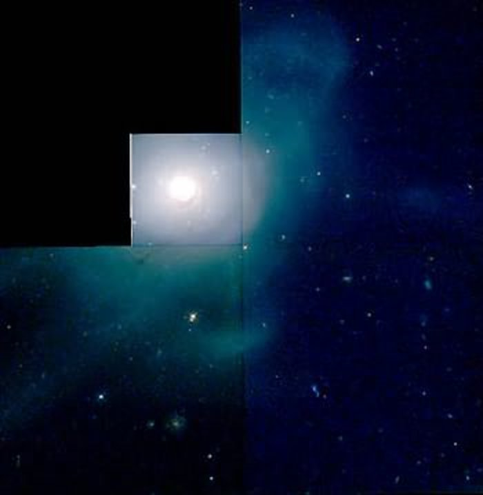 HST/WFPC2 image of galaxy NGC 7252