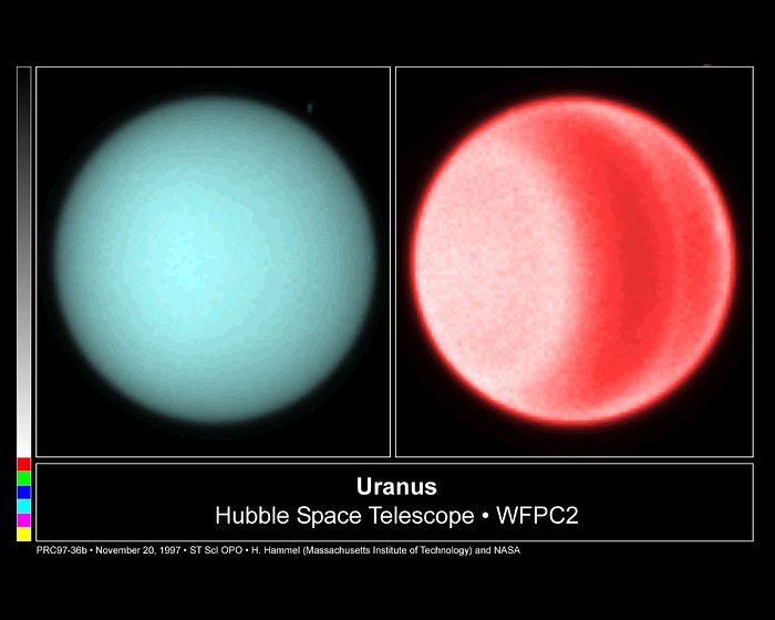 Hubble Spots Northern Hemispheric Clouds On Uranus